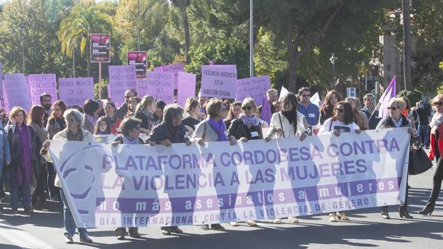 Manifestación contra la violencia de género  1