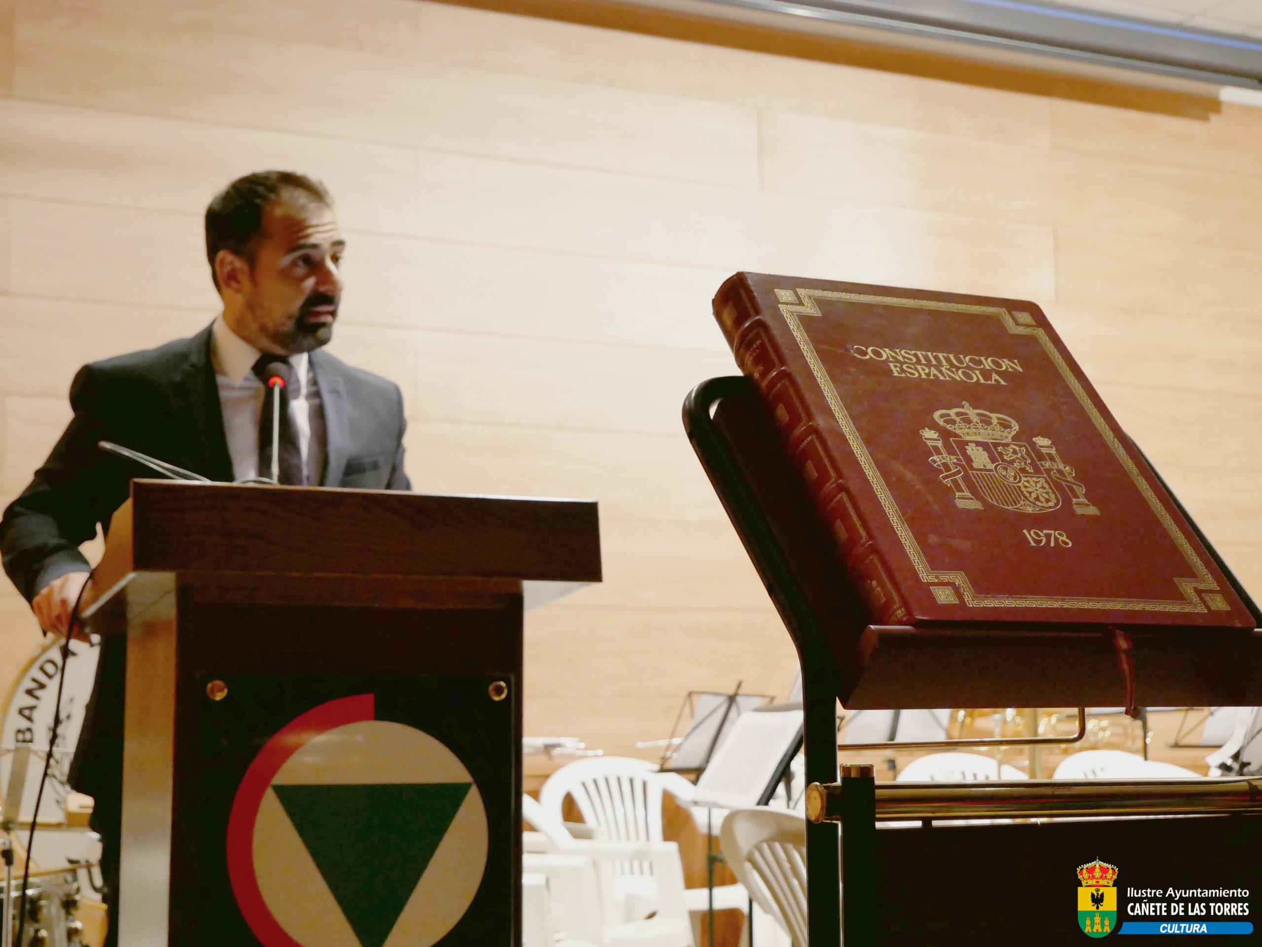 ACTO INSTITUCIONAL DÍA 6 DE DICIEMBRE DE 2018, 40 AÑOS DE CONSTITUCIÓN ESPAÑOLA 1