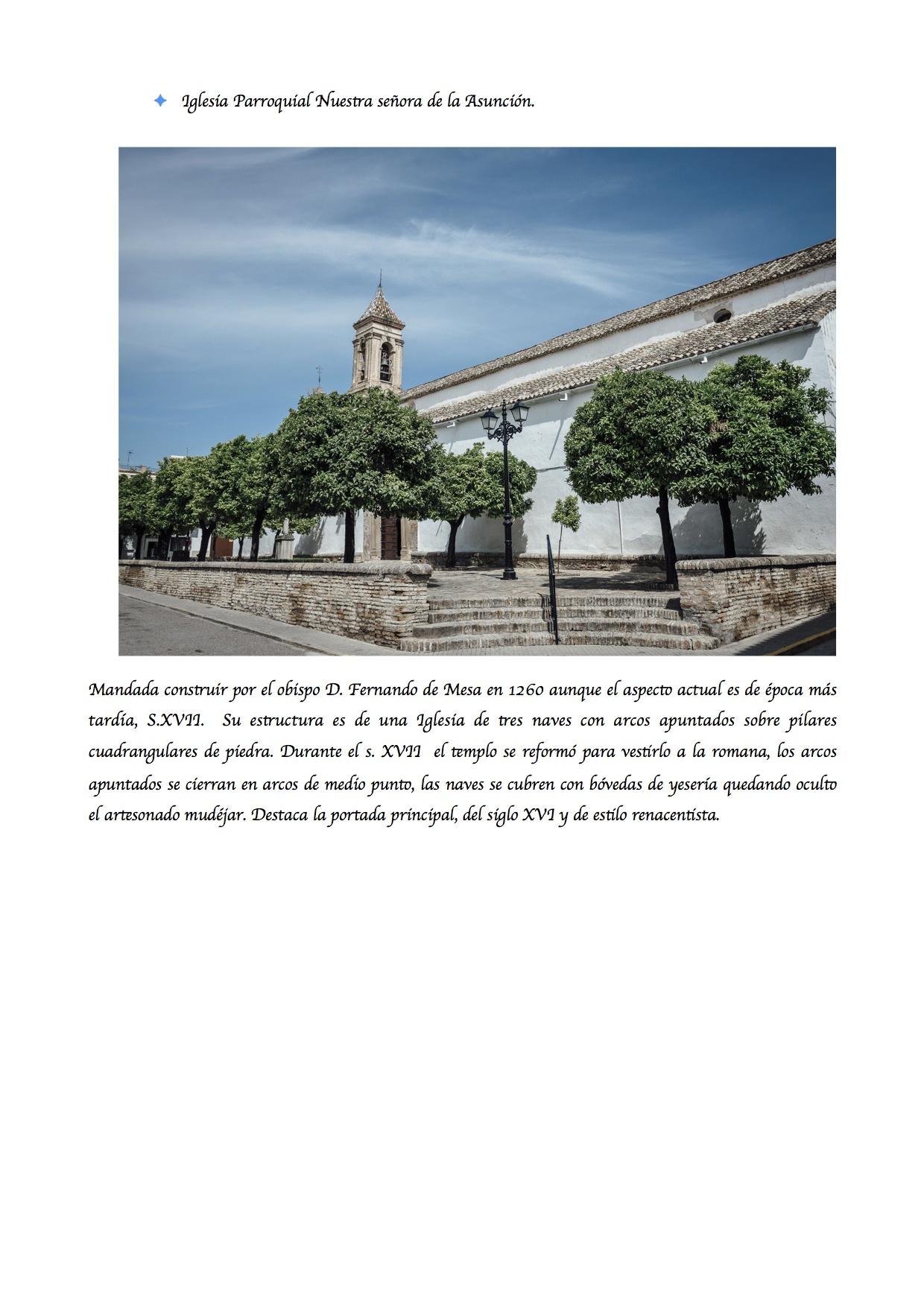 Iglesia Parroquial Asunción