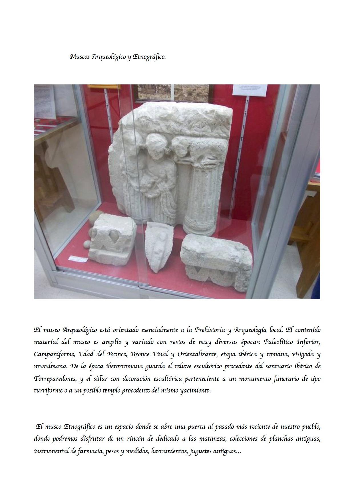 Museos Arqueológico y Etnográfico
