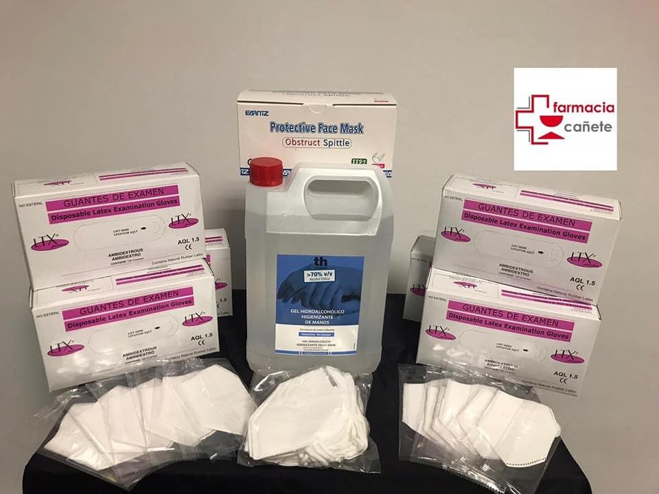 donación material farmacia cañete