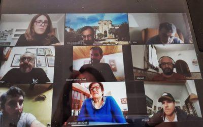 El Alcalde de Cañete de las Torres, Félix Romero,  mantiene reuniones telemáticas con los sectores productivos de la localidad para elaborar un Plan de Acción Municipal