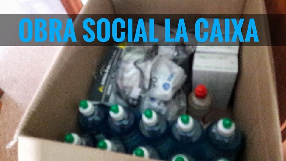 material donado obra social la caixa