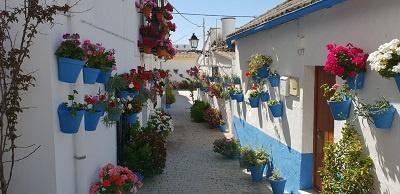 pasillo barrio huerto francé