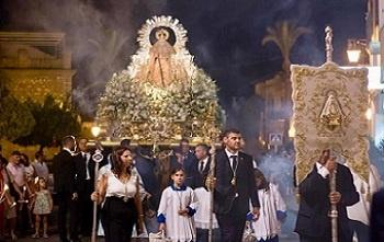 Fiesta en honor de María Santísima del Campo Coronada