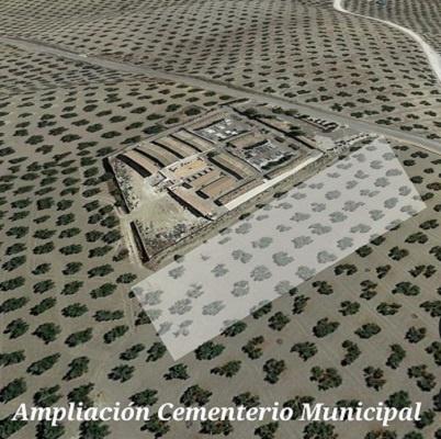 ampliación parcela cementerio municipal