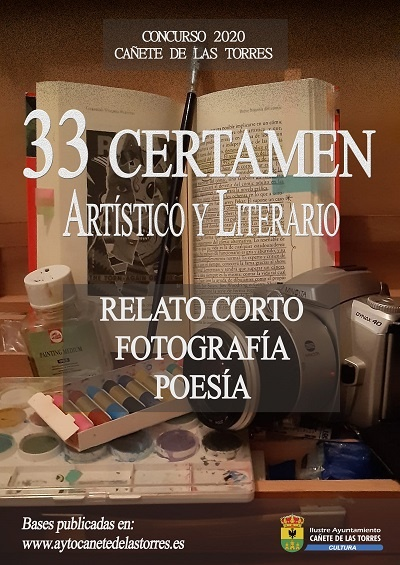 cartel certamen artístico y literario 2020