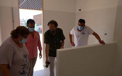 Más sanitarios y más distancia en el Colegio Público de Cañete de las Torres