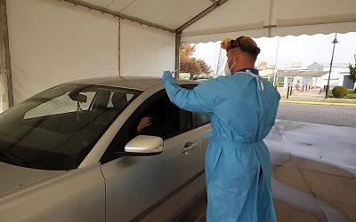 Entra en funcionamiento el «Covid-Car» junto al centro de salud