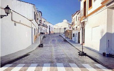 La calle Cerrillo integrada en el proyecto Villa Botánica de Cañete de las Torres