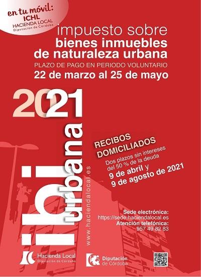 cartel IBI urbana 2021