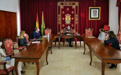 Reunión del órgano de coordinación de Gesoca Servicios (Gestión Social de Cañete de las Torres)