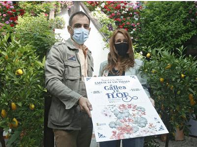 Presentación cartel Calles en Flor 2021