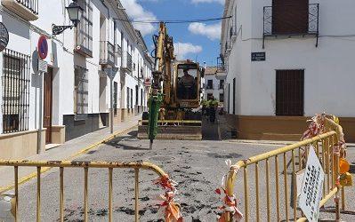 Mejoras en la red de saneamiento de la Calle Antonio Maura y Calle Arco