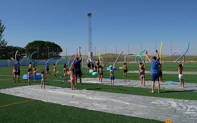 "Gymkana Infantil deportiva ""una gran fiesta del agua"""